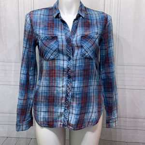 ANTHROPOLOGIE Cloth & Stone cozy flannel style
